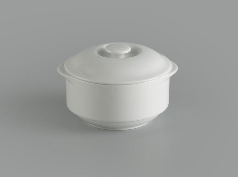 Thố 9.7 cm + nắp Jasmine Ly's trắng ngà