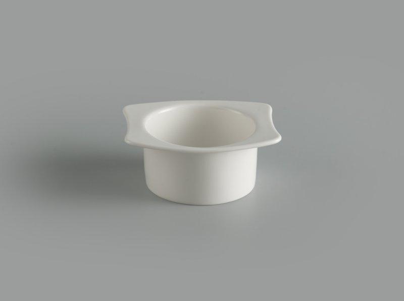 Chén vành 12 x 10 cm Gourmet trắng ngà