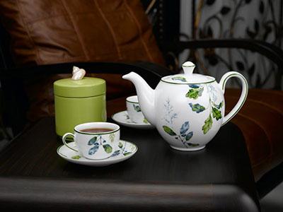 Bộ trà 1.1 L Camellia lá xanh