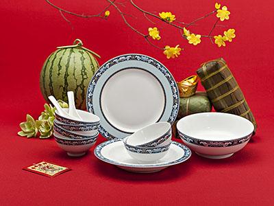 Quà tặng tết bộ bàn ăn Phước Lộc Thọ 9 sản phẩm