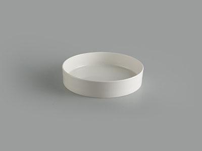 Tô cạn 24 cm Gourmet trắng ngà