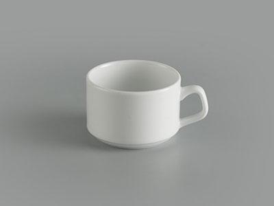 Tách trà 0.10 L Jasmine Ly's trắng ngà
