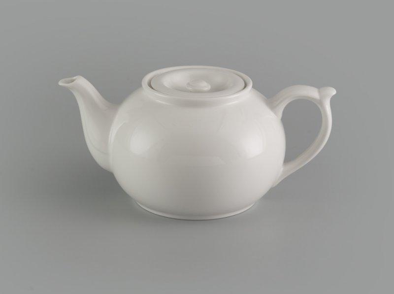 Bình trà vòi lên 0.7 L + nắp Jasmine Ly's trắng ngà