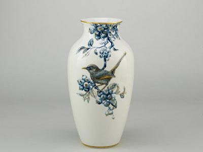 Bình hoa Chim Chích Chòe và Quả Quất 27cm