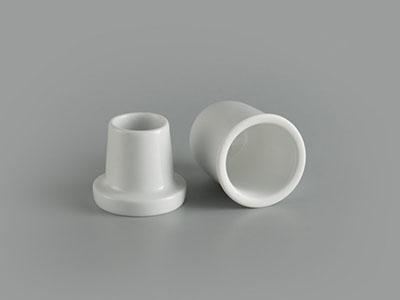 Hủ tăm + nắp 8 cm Jasmine Ly's trắng ngà