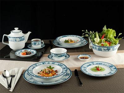 Bộ bàn ăn Jasmine  Thôn Dã 22 sản phẩm