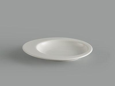 Dĩa oval cá nhân 14 cm Gourmet trắng ngà