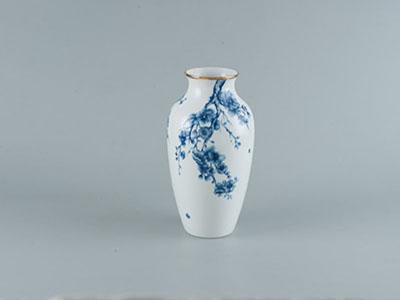 Bình hoa Hoa Mai Cobalt 27 x 14.5 cm