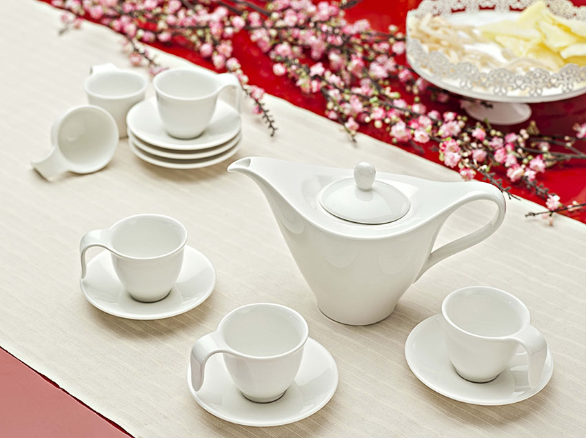 Quà tặng tết bộ trà Anh Vũ Trắng