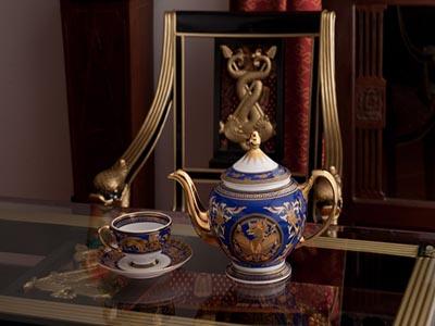 Bộ trà cao cấp Hoàng Cung Cẩm Tú 1.3 L