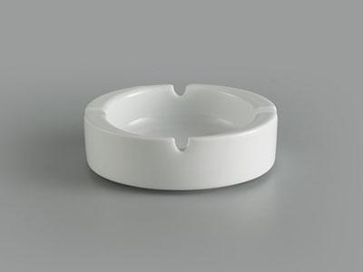 Gạt tàn tròn 10 cm Jasmine Ly's trắng ngà