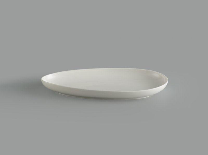 Dĩa hạt gạo 33 cm Gourmet trắng ngà