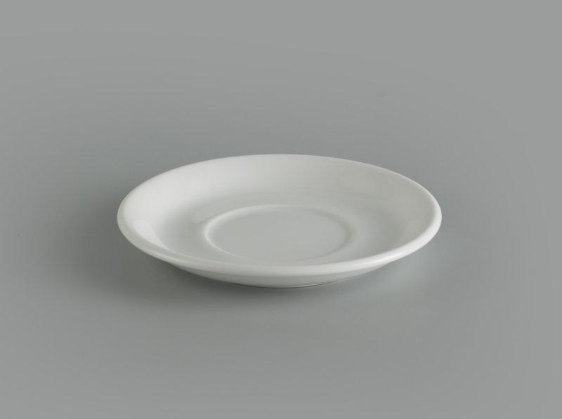 Dĩa lót tách 12 cm Jasmine Ly's trắng ngà
