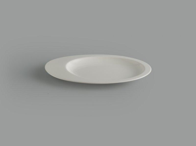 Dĩa oval 1 ngăn 26 cm Gourmet trắng ngà