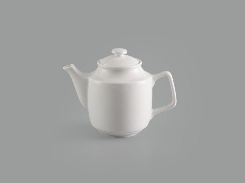 Bình trà 0.7 L + nắp Jasmine Ly's trắng ngà