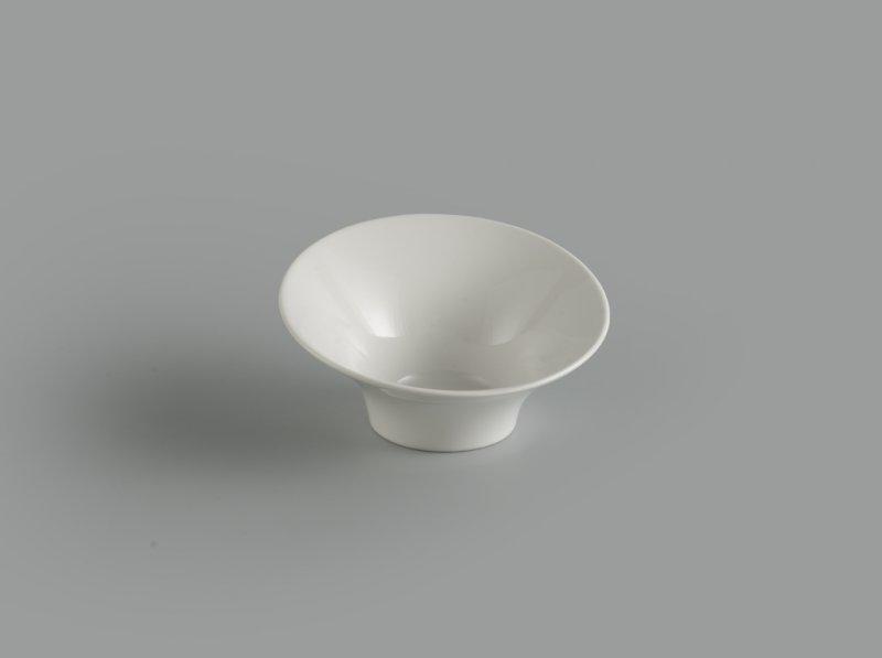 Tô loe vành 15 cm Gourmet trắng ngà