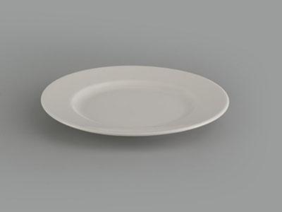 Dĩa tròn 15cm Jasmine Ly's trắng ngà