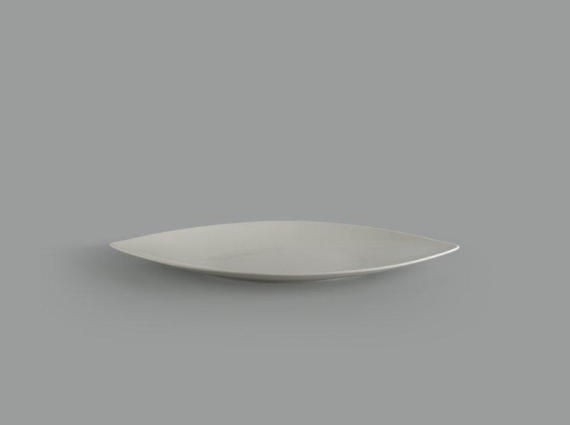 Dĩa hạt lúa 45 cm Gourmet trắng ngà