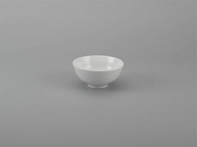 Chén súp Jasmine Ly's trắng ngà 10 cm