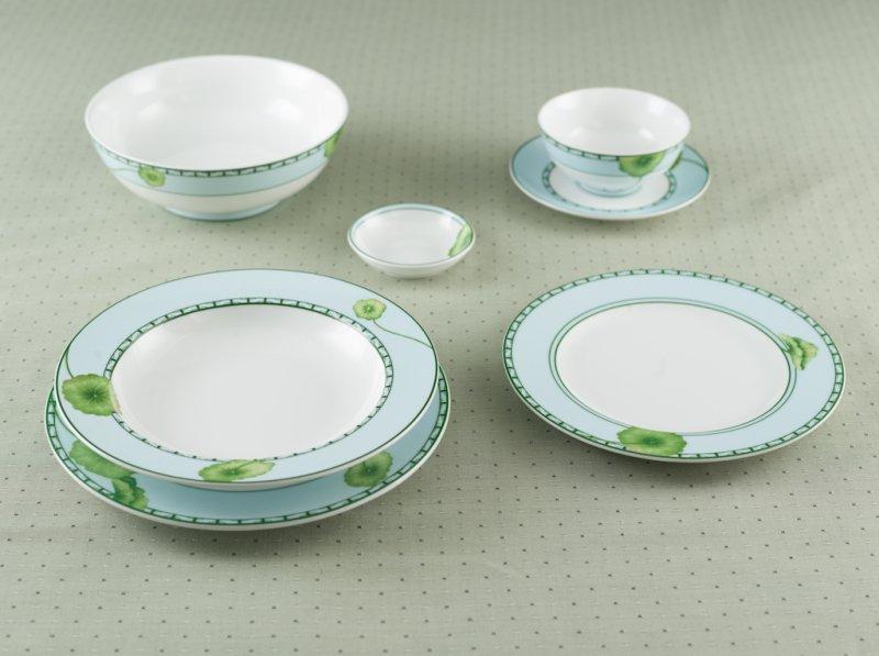 Bộ đồ ăn Jasmine  Tích Tuyết Thảo 22 sản phẩm